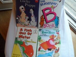 Four Disney & Bright & Early Books for Beginners