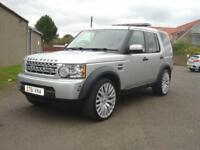 2011 61 LAND ROVER DISCOVERY 4 SD V6 COMMERCIAL DIESEL