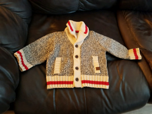 Roots cabin sweater 6-12M