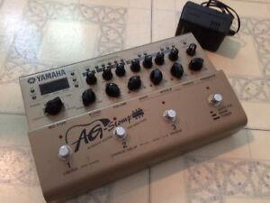 Yamaha AG stomp pour guitare acoustique