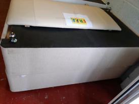 Double bed base & headboard