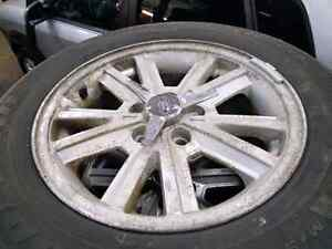 08 FORD MUSTANG ORIGINAL RIMS WITH WINTERS Kitchener / Waterloo Kitchener Area image 1