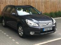 2010 Subaru Outback 2.5i SE Lineartronic, 5 Door Estate, Petrol.