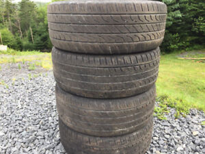 Four Toyo 205/55R16 Summer Tires Excellent Tread