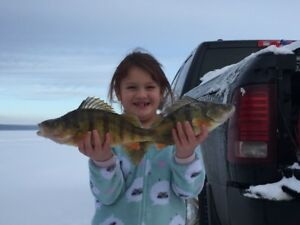 Ice Fishing Shack Rentals on Lesser Slave Lake