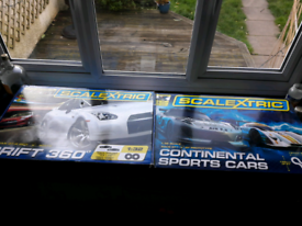 Scalextric sets x 2