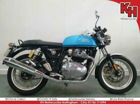 Royal Enfield Continental GT 650 Blue 2019 - One Owner, Service and Warranty