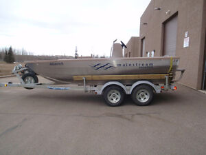 Jet Boat Equiped with 200 hp Sportjet