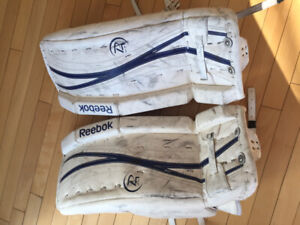 Jambières gardien de but junior 24+1 Reebok
