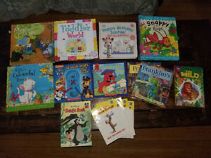 Books for kids under 6 for sale!