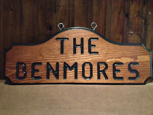 SIGNS WOOD ROUTED HAND CARVED CUSTOM St. John's Newfoundland image 10