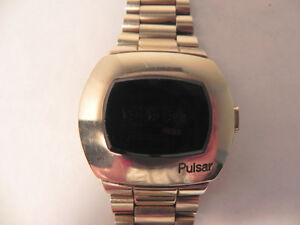 vintage Pulsar gold filled led watch P3