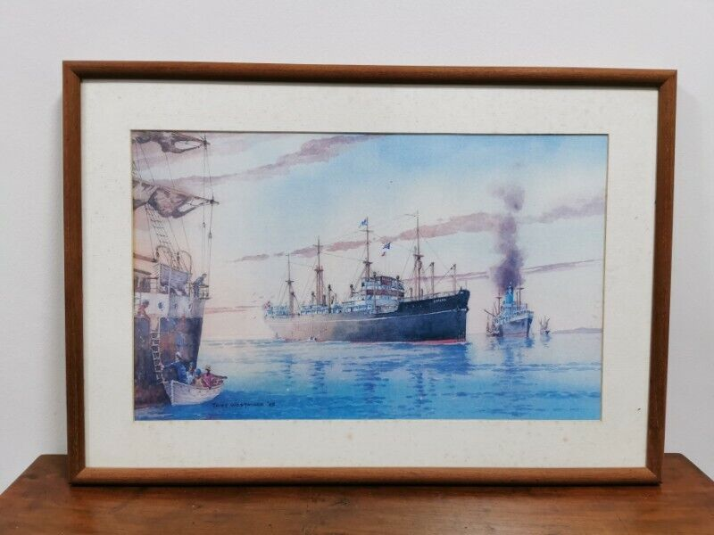 Limited Edition Print vintage collection- 'Dawn of a new era' in frame