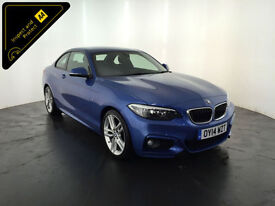 2014 BMW 218D M SPORT DIESEL COUPE 1 OWNER SERVICE HISTORY FINANCE PX