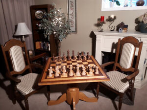 Handcrafted and Unique Chess Set