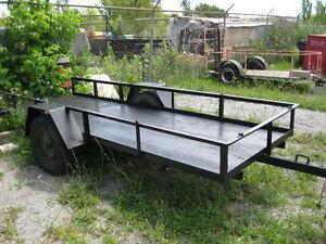 "trailer 12 ft long 50""wide x 12""high sides Kingston Kingston Area image 2"
