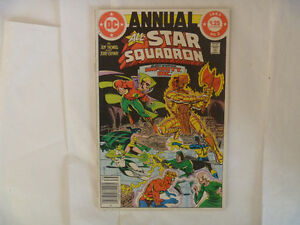 ALL-STAR SQUADRON Comics by DC