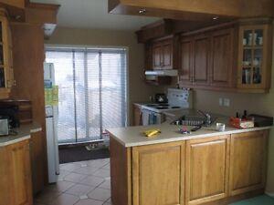 armoire de cuisine erable
