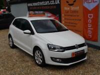 VOLKSWAGEN POLO 1.2 MATCH 60 3dr White Manual Petrol, 2011