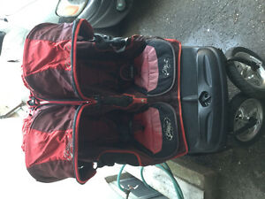 City elite double stroller