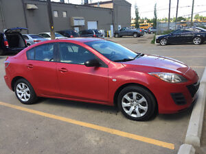 2010 MAZDA 3 SEDAN BLUETOOTH ONLY 950000 KM