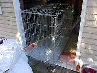 GRAND CAGE POUR CHIEN, BIG CAGE FOR DOG