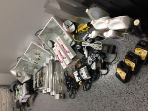 Hydroponic equipment bundle - Very lightly used