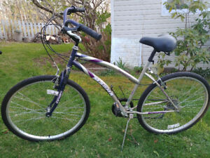 Adult 7 speed bike and child carrier for sale