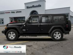 2019 Jeep Wrangler Unlimited Sahara  - Leather Seats - $322.98 B