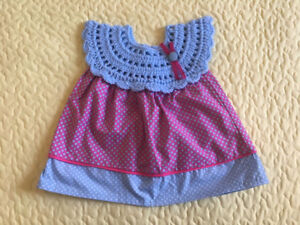 Handmade new born girl outfits proceeds go to donation.