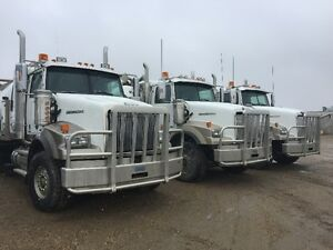 2014 WESTERN STAR TRI DRIVE VAC TRUCK, 3 TO CHOOSE