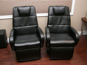 Pair of Massage recliners