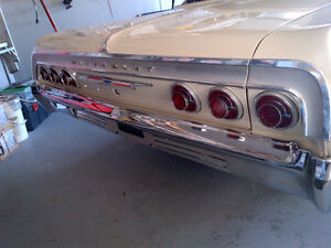 64 Impala Trunk Emblem &Trim and Other Parts