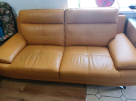 2 x Harvey's 3 seater sofa