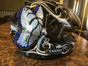Shoei Women's Motorcycle Butterfly Helmet
