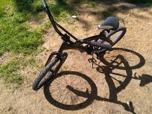 Black BMX bike