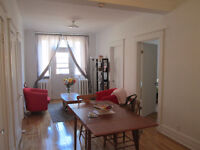 For mid-Dec/Jan, Beautiful, clean, quiet 3 1/2 in Ghetto/Plateau