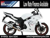 DAELIM VJF250 ROADSPORT UNUSED PRE REG BIKE ON 66 PLATE COMES WITH WARRANTY