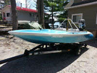 J craft ski boat package with 150 hp Mercury