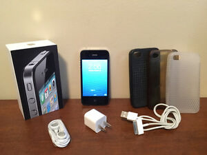 Apple iPhone 4 Black 16GB with Fido