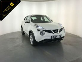 2014 64 NISSAN JUKE VISIA DCI DIESEL 1 OWNER SERVICE HISTORY FINANCE PX