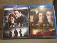 Blu-Ray Twilight - Fascination et New Moon (Tentation)