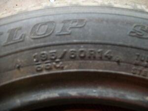 3 pair of 14 in tires