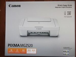 Brand new Canon Pixma MG2520 3in1 printers