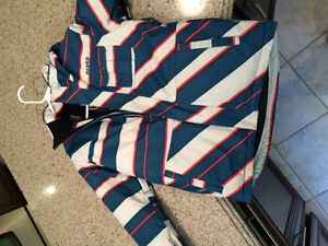 Boys snowboarding jacket and pants.