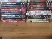 DVD bundle, horrors and comedies