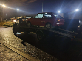 24 hour Car recovery, transport and emergency breakdown