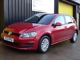 2013 (13) Volkswagen Golf 1.6 TDi 105 S 5dr Diesel £0 road tax (free)