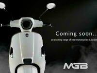 2021 MGB TRIESTE 125cc Automatic Learner Legal Scooter FOR UNDER £2000
