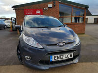 2012 Ford Fiesta 1.6 ( 134ps ) 2012.5MY Metal MANUAL PETROL 3 MONTHS WARRANTY